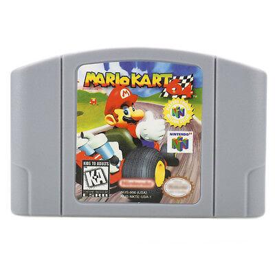 Mario Kart 64 Game Card For Nintendo 64 N64  Nintendo 64  1997  Us Version