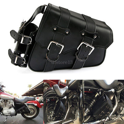 Motorcycle Right Saddlebag Tool Bag Fuel Oil Bottle Holder For Harley Sportster, used for sale  China