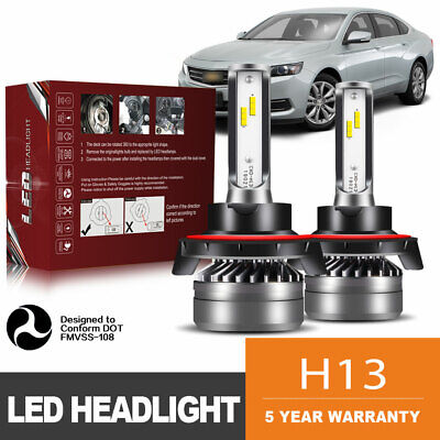 TURBO SII H13 9008 LED Headlight Bulb fit Ford F-150 2004-2014 High Low Beam DWK for sale  Canada