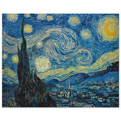 Vincent van Gogh, Sternennacht, Poster