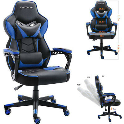 Swivel Racing Gaming Chair Ergonomic Computer Office Chair High Back Recliner High Back Swivel Chair