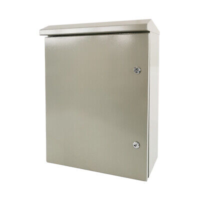 24 X 20 X 8 In Carbon Outdoor Steel Electrical Enclosure Cabinet Ip65
