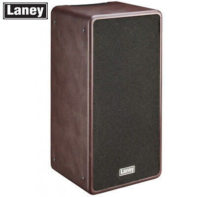 NEW Laney A-DUO Acoustic Guitar 80W Combo 3 Band 2 Channel EQ Amplifier - Brown