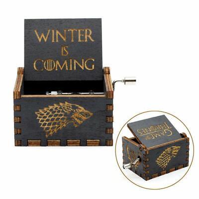 Game of Thrones classico carillon legno intagliato a mano creativo Collezione