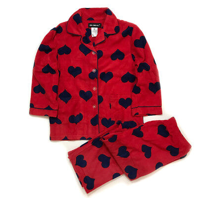 (NEW Kids Pajamas girls Fleece Sleepwear Long Sleeve PJ Set Flannel Warm)