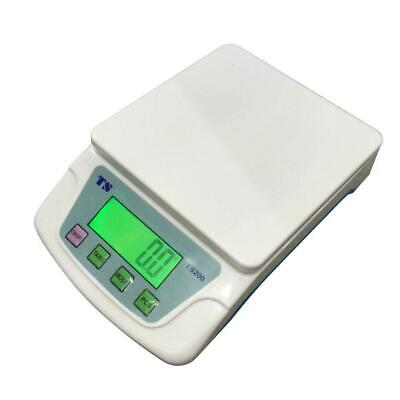 Digital Weigh Packaging Shipping Postal Scale 10kg0.5g 22lb Lcd Display White