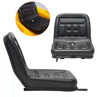 Water-resistant Universal Tractor Seat Tractor Lawn Garden Seat W Slide Tracks