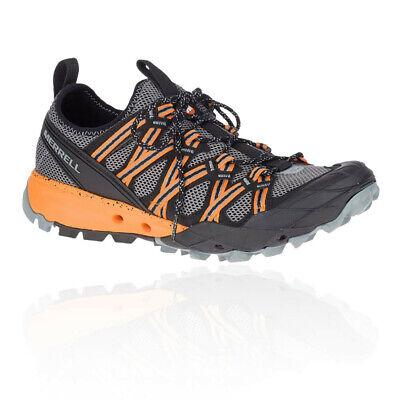Merrell Mens Choprock Hiking Shoes Sneakers Trainers Black Grey Orange Sportss