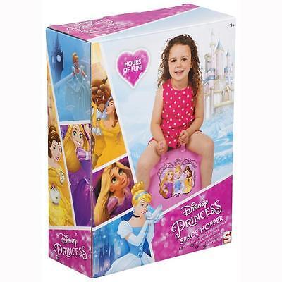 New CHILDRENS DISNEY PRINCESS SPACE HOPPER HOP BOUNCE JUMP BALL FUN ACTIVE TOY Disney Princess Hop Ball