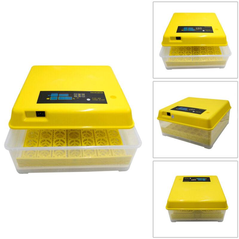 48/56/96/112 Digital Eggs Incubator Egg Hatcher Temperature Control Automatic