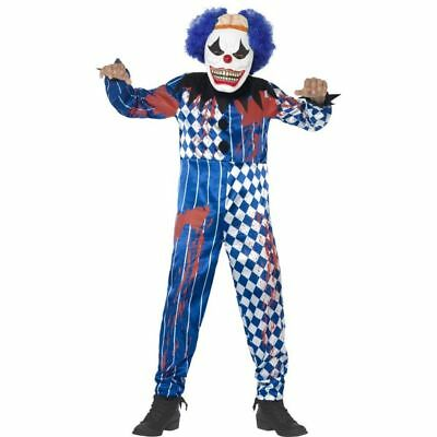 Clown Zombie Halloween (Smi - Halloween Kinder Kostüm Horror Clown Zombie)