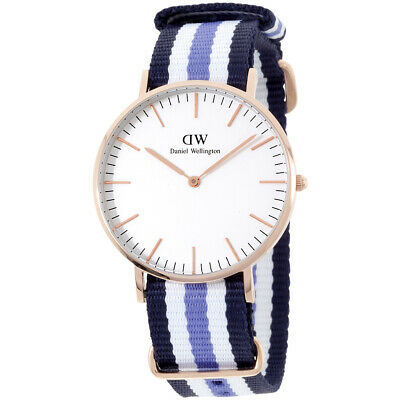 Daniel Wellington Trinity Quartz Movement White Dial Ladies Watch 0509DW