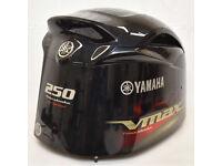 Yamaha Boat Outboard Motor Cowling 250HP V MAX SHO Fourstroke - Cracks