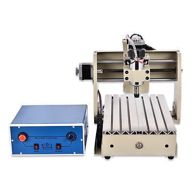 3 Axis 3020t Cnc Router Engraver Engraving Milling Machine Spindle Motor 300w