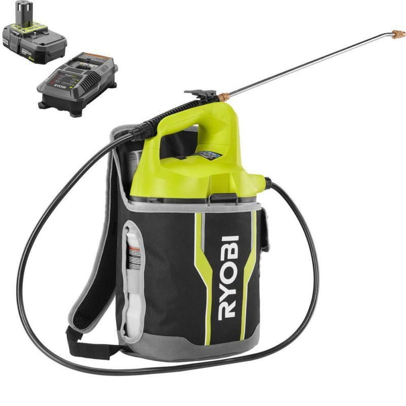 Ryobi Chemical Sprayer Backpack Holster Adjustable Nozzle Co