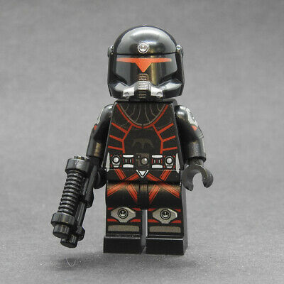 Custom Star Wars minifigures Rebel Alliance Special Ops Trooper on lego bricks