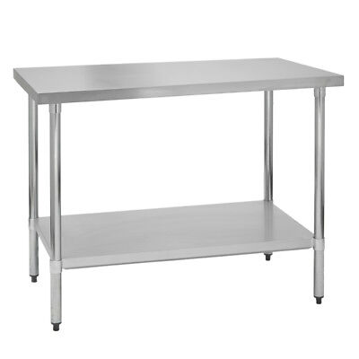 Stainless Steel Commercial Work Prep Table - 30 X 30 G