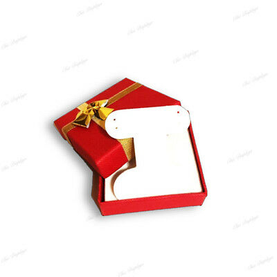 Lot Of 72 Boxes Red Earring Boxes Bow Tie Gift Box Jewelry Box Wholesale Boxes