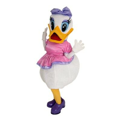 Daisy Duck Mickey Mouse Mascot Costume Party Character Birthday Halloween Cospla