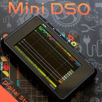 Ds213212 Dso Mini Portable Channel Digital Display Oscilloscope Pocket Size Usb