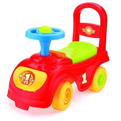 Dolu Toddler Kids My First Ride Ride On Car Push Along Walker Red 1 Year+ 8025