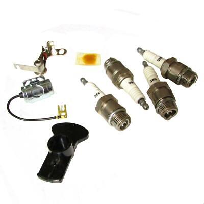 Ignition Tune Up Kit W Plugs Fits Massey Harris 20 30 33 333 44 444 55 555