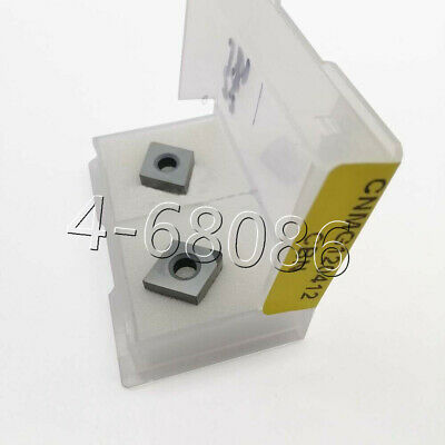 2pcs Carbide Insert Cnc Cnmg120412 Cbn Cnmg433 For Steel Diamond Turning Insert