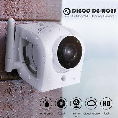 Digoo 720p wasserdichte ONVIF im freien WIFI Security IP Kamera Bewegungserkennu