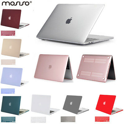 Mosiso Shell Case for Macbook Pro 13 15  2012 - 2017 +  Silicone Keyboard Cover