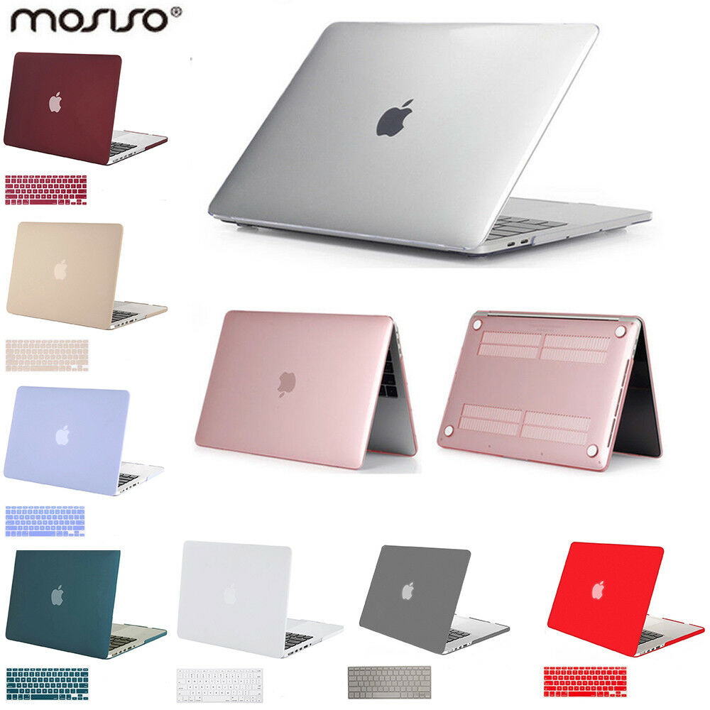 Mosiso Shell Case for Macbook Pro 13 15  2012 - 2017 +  Sili