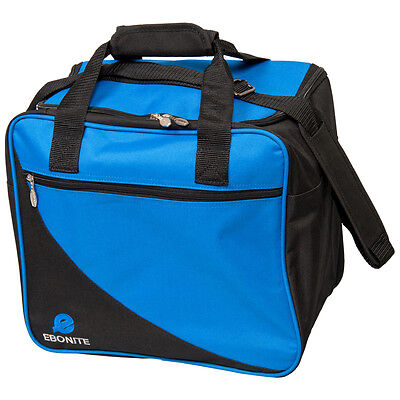 Ebonite Basic Single Blue/Black 1 Ball Bowling Bag