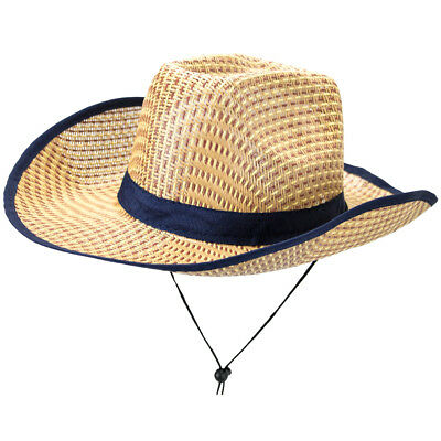 Australian Dundee Outback Safari Costume Straw Hat - Halloween Costumes Dundee