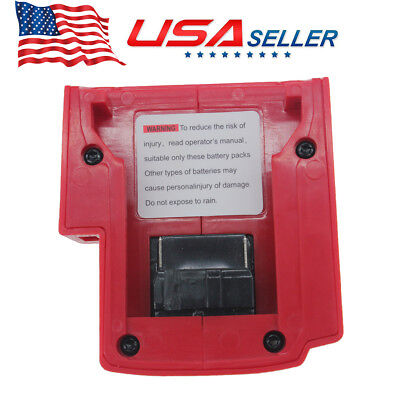 Durable USB Port Charger Set For Milwaukee 49-24-2371 M18 Power Source US -