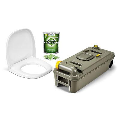 Thetford Fresh-Up Set für C2/3/4 Toilette, RECHTS, neues Modell mit Räder, NEU