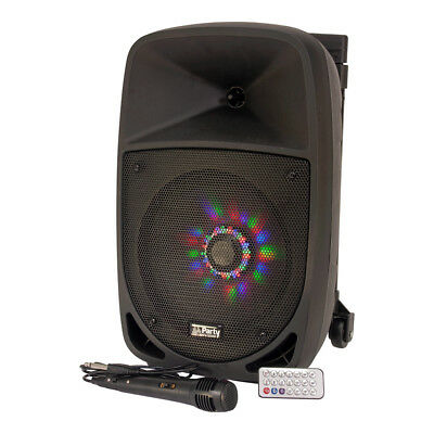 PLS 300W Portable Sound System Bluetooth Garden Party Speaker Karaoke DJ Disco