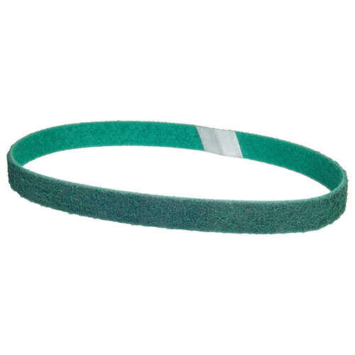 """40% OFF 5 Each Norton 1-1/8""""x21"""" A/O Fine Rapid Prep Surface Conditioning Belt"""