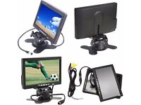 """7"""" TFT Monitor With Surface Camera and WiFi Connectors No Wires To Run OTHER MONITORS AVAILABLE"""