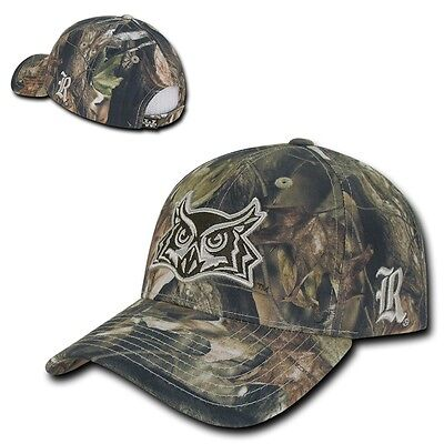 NCAA Rice Owls University Hybricam Baseball Camouflage Camo Caps Hats GBR (Rice Hats)