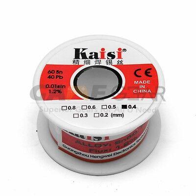 0.4mm 50g 6040 Rosin Core Flux 1.2 Tin Lead Roll Soldering Solder Wire