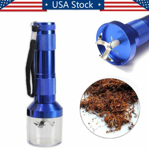 Electric Aluminum Metal Crusher Muller Cracker Grinder Herb