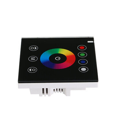 Glass Screen Touch Panel Switch Controller Light Dimmer For LED Strip DC12V JM Glass Touch Controls