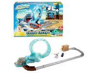 Thomas and Friends - Great Shark Adventure Set - Adventures Mattel +Dvd And Hugo xioyrko toy