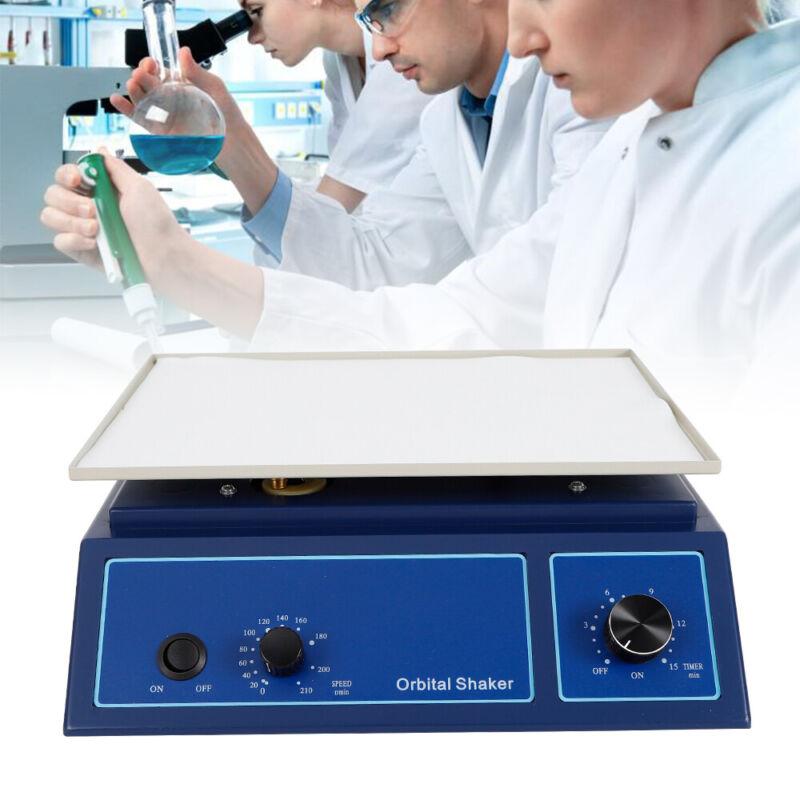0-210RPM Lab Orbital Shaker Rotator Oscillator Variable Speed Mixer for Hospital