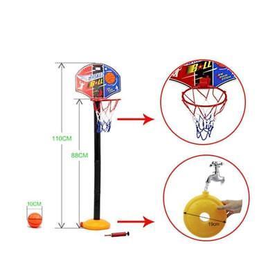 Adjustable Free Standing Basketball Netball Hoop Kids Toy Inside Outside 365