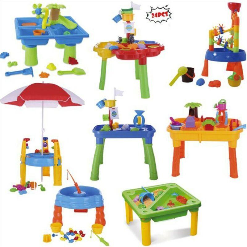 Children Outdoor Sand Water Table Garden Beach Toy Set For K