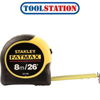 Stanley FatMax Classic Tape Measure 8m