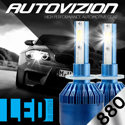 388W 38800LM LED Headlight Kit 880 881 893 894 899 Fog Light bulb 6000K White