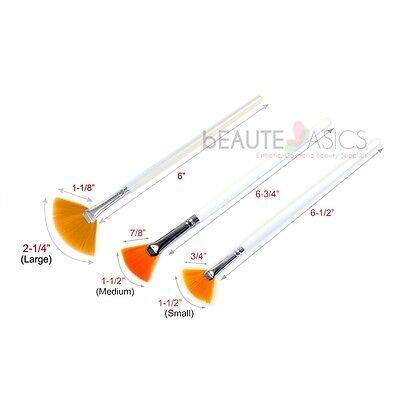 (Taklon Fan Mask Brush Acid Applicator for Glycolic Skin Peel / Masques (1 Pc))