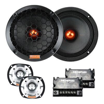"Memphis Audio MJP62C MOJO Pro 6-1/2"" Component Car Audio Speaker System Comp NEW"