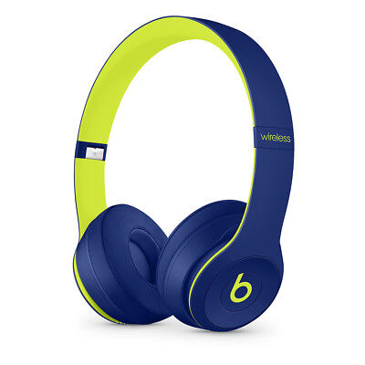 Beats by Dr. Dre Solo3 Wireless Pop Indigo Beats Pop Collection On Ear
